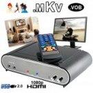 Premium Hi-Def 1080P SATA HDD Media Player (HDMI, KTV, More!)