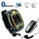 Classic QuadBand Cellphone Watch - Dual SIM + Touchscreen