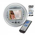 Portable DVD Player - DVD/DIVX/CD/SD/USB Player with 3.5 Display
