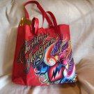 Christian Audigier *Charmed Life* Ed Hardy Red Tote Bag