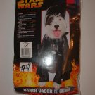 NIP Large Dog STAR WARS DARTH VADER Costume HTF