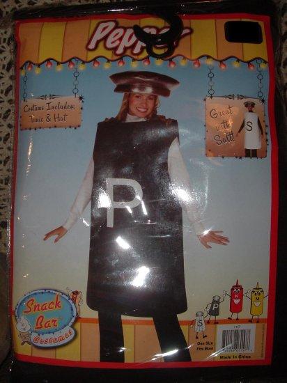 **NIP** Hilarious PEPPER SHAKER Adult Costume S M L