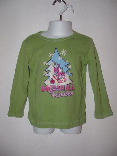 Girls CHILDRENS PLACE Downhill Racer Shirt 3T **EUC**