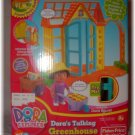 *NIB* Dora's Talking GREENHOUSE Dora Figurine & Access.