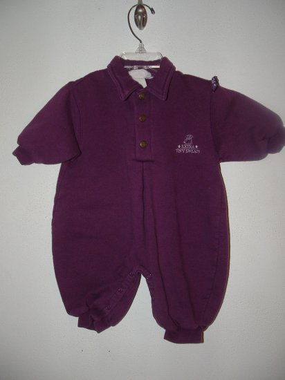Girls CHILDREN'S PLACE Tiny Sweats Romper 3-6 Mo *EUC*