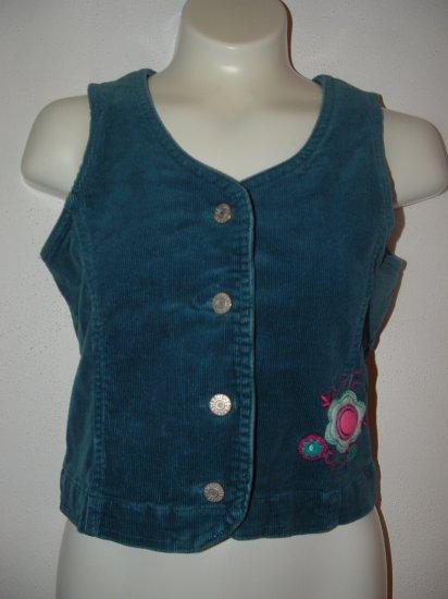 !CUTE! Girls CHILDREN'S PLACE Cordroy Vest 7/8 *EUC*