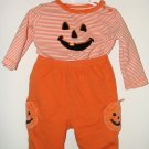 CUTE! Boy Girl CARTERS 2pc HALLOWEEN Pant Set 6 Mo EUC