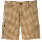 *NWT* Boys GYMBOREE Plaid Shorts EVERGLADES Sz 4T