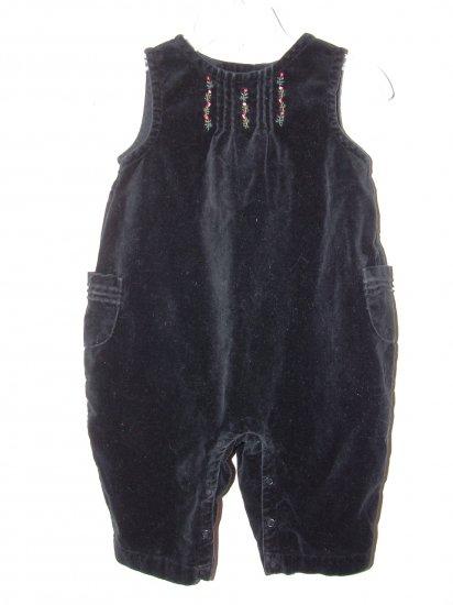 Girl Xmas GYMBOREE NUTCRACKER Pant Overall 3-6 Mo *EUC*