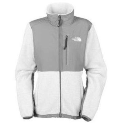 NWT North Face Denali Jacket Fleece Women's WHITE Sz L