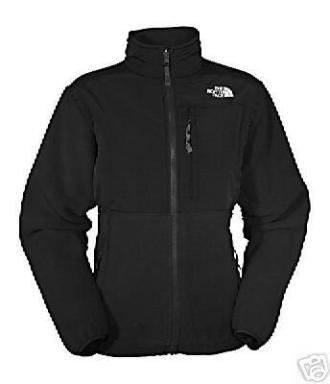 NWT North Face Denali Jacket Fleece Women�s BLACK L