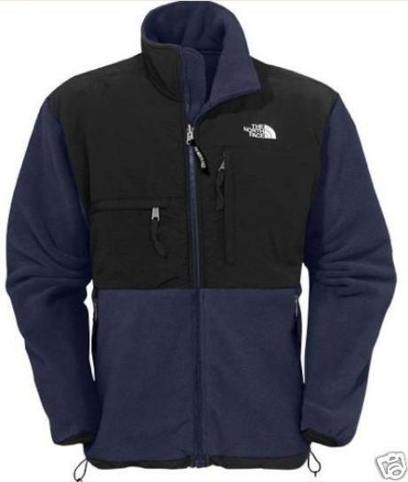 NWT North Face Denali Jacket Fleece Men's NAVY BLUE XXL