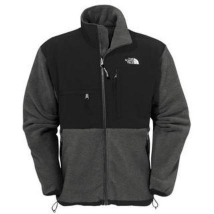 NWT North Face Denali Jacket Fleece Men's GREY M