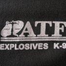 ATF EXPLOSIVES K9 T-SHIRT