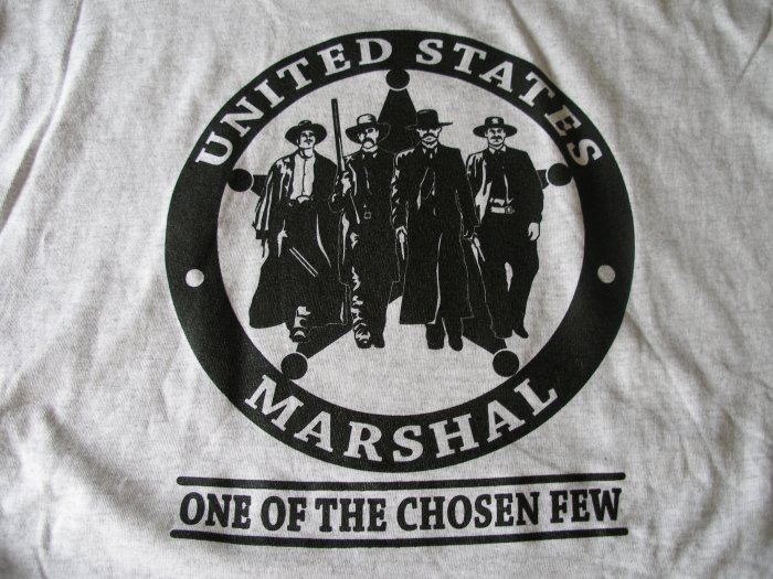 UNITED STATES MARSHALS T-SHIRT