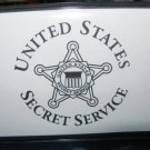 UNITED STATES SECRET SERVICE CHECK BOOK COVER
