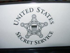 UNITED STATES SECRET SERVICE CHECK BOOK COVER