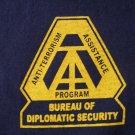 DIPLOMATIC SECURITY SERVICE ANTI-TERRORISM T-SHIRT
