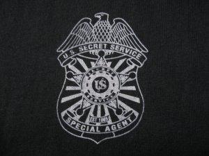 SECRET SERVICE SPECIAL AGENT T-SHIRT