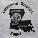LOUISIANA GAME WARDEN T-SHIRT