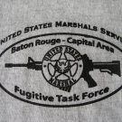 U.S. MARSHAL LOUISIANA FUGITIVE TASK FORCE T-SHIRT