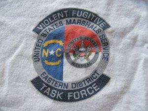 UNITED STATES MARSHALS VIOLENT FUGITIVE TASK FORCE T-SHIRT
