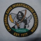 CALIFORNIA GANG INVESTIGATORS ASSOCIATION T-SHIRT