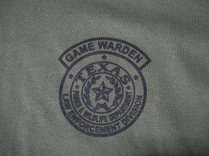 TEXAS GAME WARDEN T-SHIRT