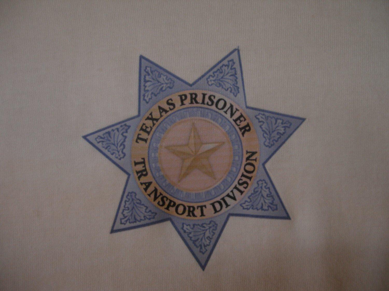 TEXAS PRISONER TRANSPORT T-SHIRT