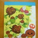 San-X 2002 Chestnut Guy Mini Memo Pad