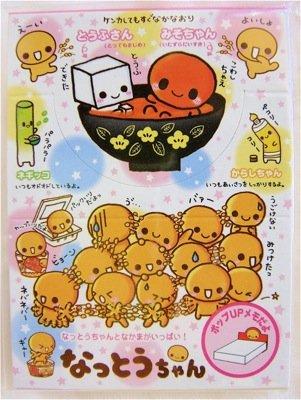 Crux Natto-chan Mini Memo Pad