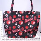 BASKETBALL PRINT HANDBAG