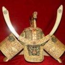 Exquisite Bone Art Handicraft Carving Dragon Gen. Cap