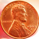 1940-S Lincoln Wheat Cents.