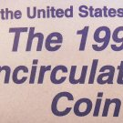 "1998 U.S. Mint UN-Circulated Coin Set. ""P"" and ""D"" Minted Coins."