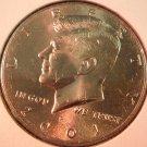 2001-P Kennedy Halve Dollar. Raw. BU.