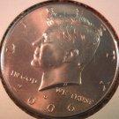 2006-D Kennedy Halve Dollar. Raw. BU.