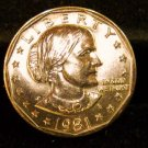 1981-P Susan B. Anthony Dollar. Choice UN-Circulated