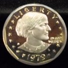 1979-S Susan B. Anthony. Gem Proof. Typ-1
