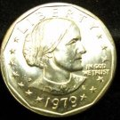 1979-D Susan B. Anthony. Choice Un-Circulated.