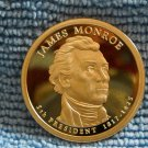"2008-S Presidenal Proof Dollar. ""James Monroe"""
