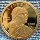 2008-S Sacagawea Proof Dollar.