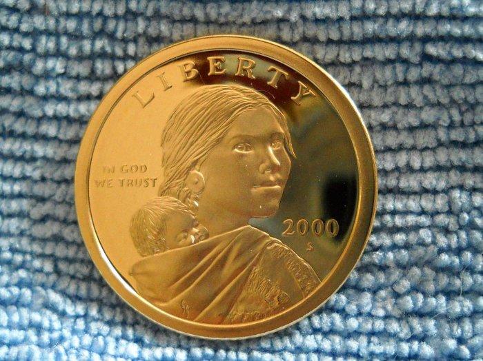 2000-S Sacagawea Proof Dollar