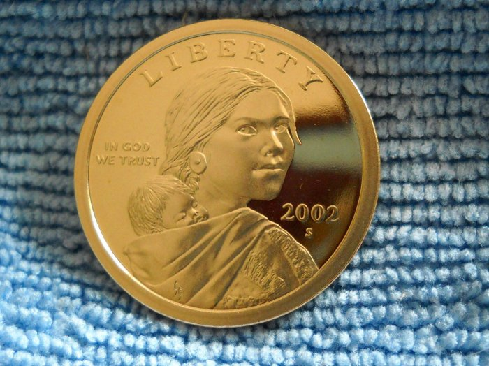 2002-S Sacagawea Proof Dollar