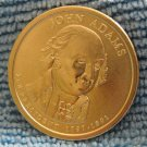 "2007-D Presidential Dollar. ""John Adams"""