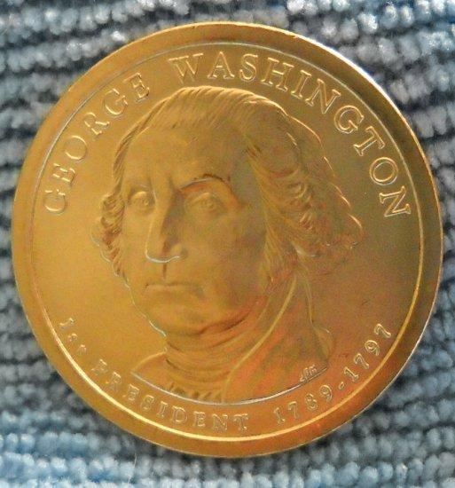 "2007-P Presidential Dollar. ""George Washington"""