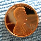 1999-S Lincoln Memorial Cents, Choice Proof.