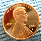 2002-S Lincoln Memorial Cents, Choice Proof
