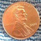 2008-P Lincoln Memorial Cents. BU