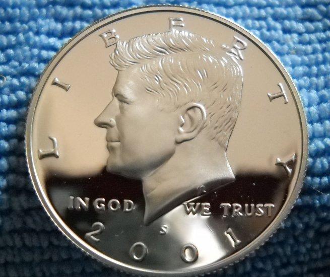 2001-S Kennedy Silver Half Dollar, **SILVER PROOF**